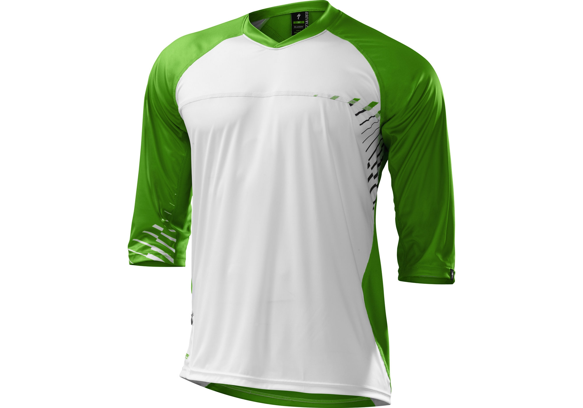 Specialized Enduro Comp 3 4 Sleeve Jersey Size XL in White £29.99 b0d8ae6dc