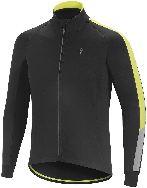 Specialized Element RBX Comp HV Mens Waterproof Jacket BK YEL £120.00 38ffe7480