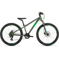 2020 Cube Acid 240 Disc Childs Bike In Grey 163 399 00