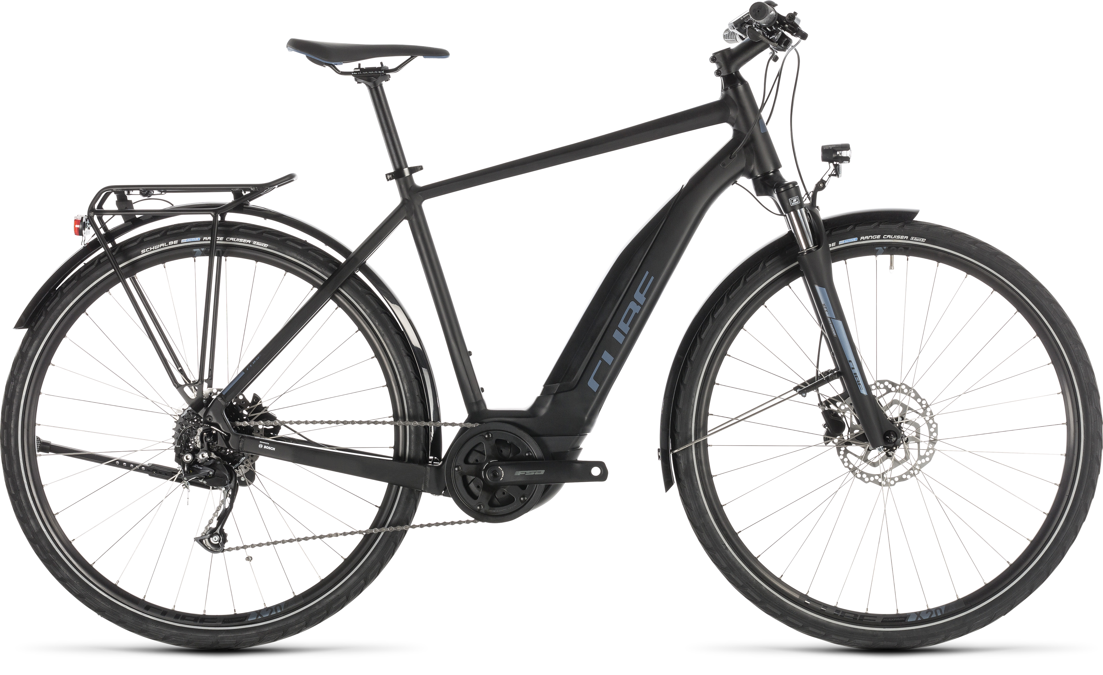 2019 cube touring hybrid one 500 electric bike in black 1. Black Bedroom Furniture Sets. Home Design Ideas