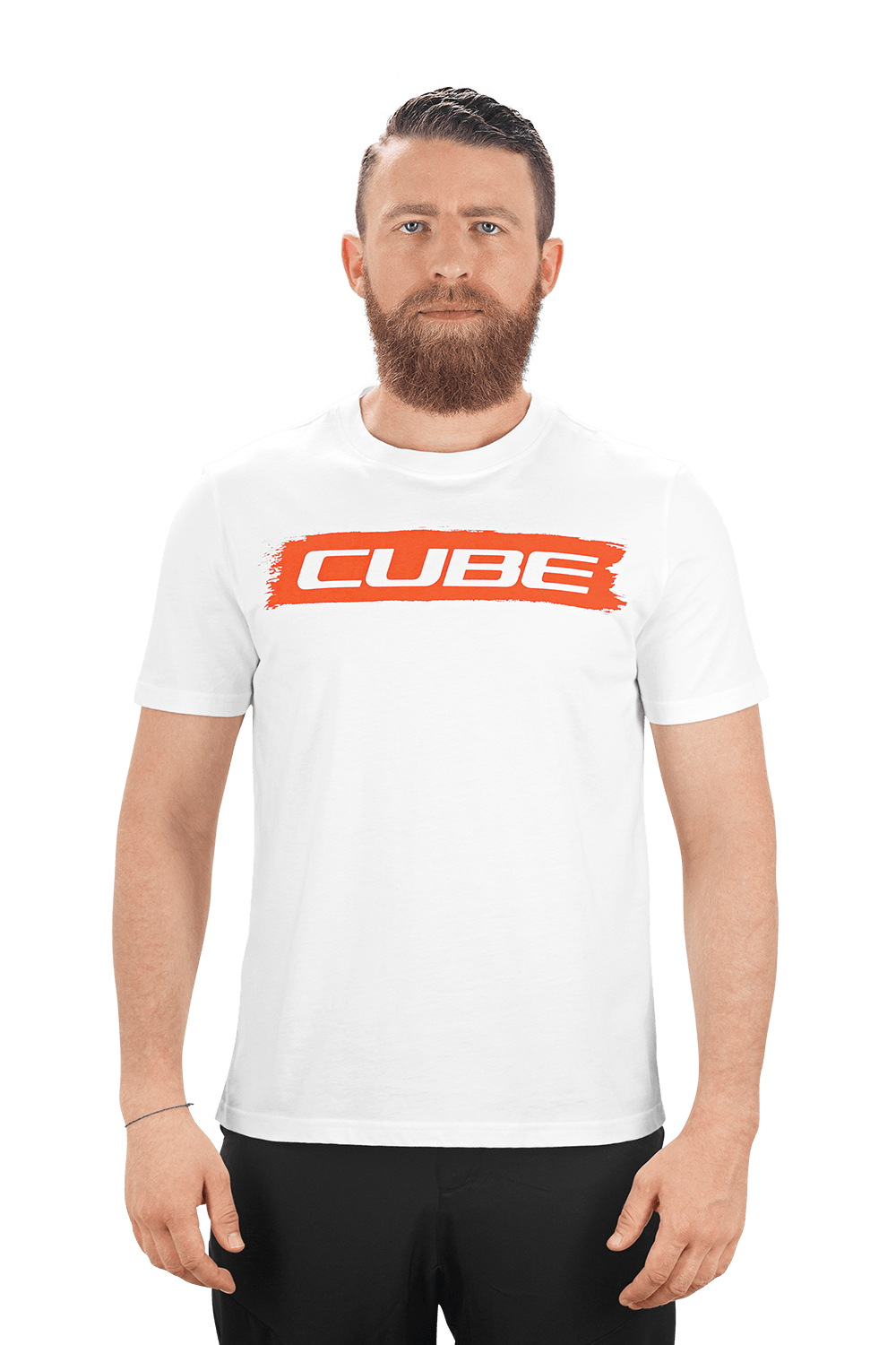 2019 Cube Logo T-Shirt in White £39 95