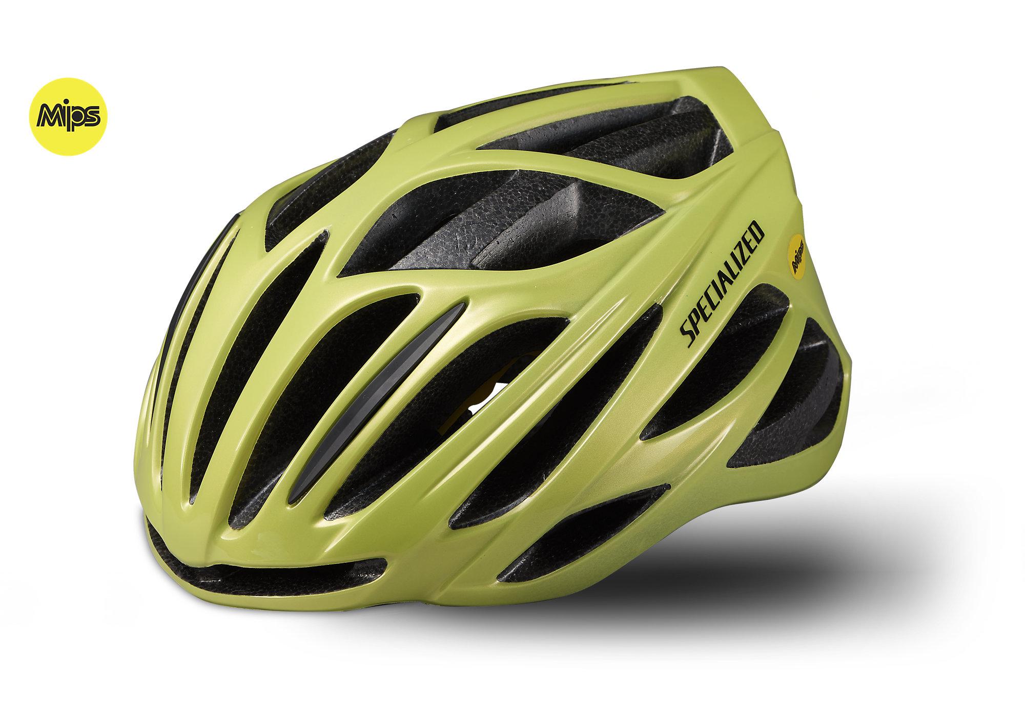 d715ff23e1d 2019 Specialized Echelon II MIPS Cycling Helmet in Yellow £70.00