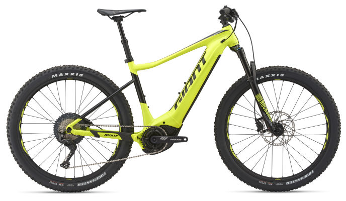 3bf6bf79e97 2019 Giant Fathom E+ 1 Pro 25km Mens Electric Mountainbike in Yel ...