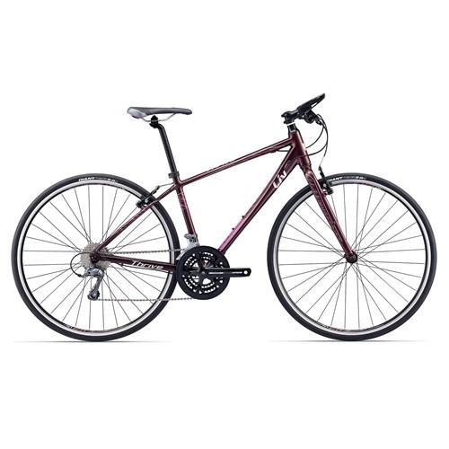 Liv Thrive 3 Womens Hybrid Bike Dark Red £415.00