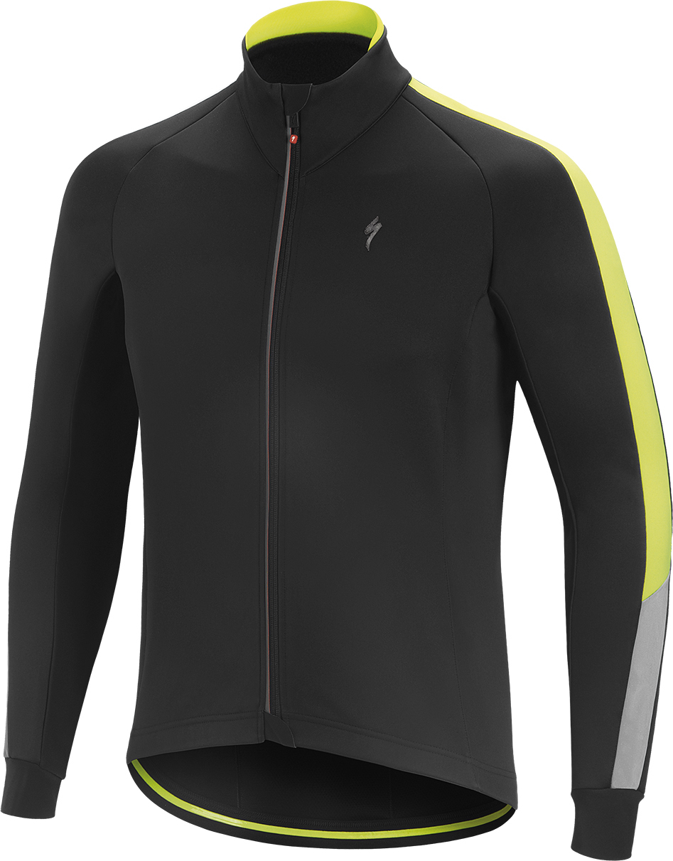 6e726f52e 2018 Specialized Element RBX Comp Hi-Vis Jacket in Black Yellow £74.99