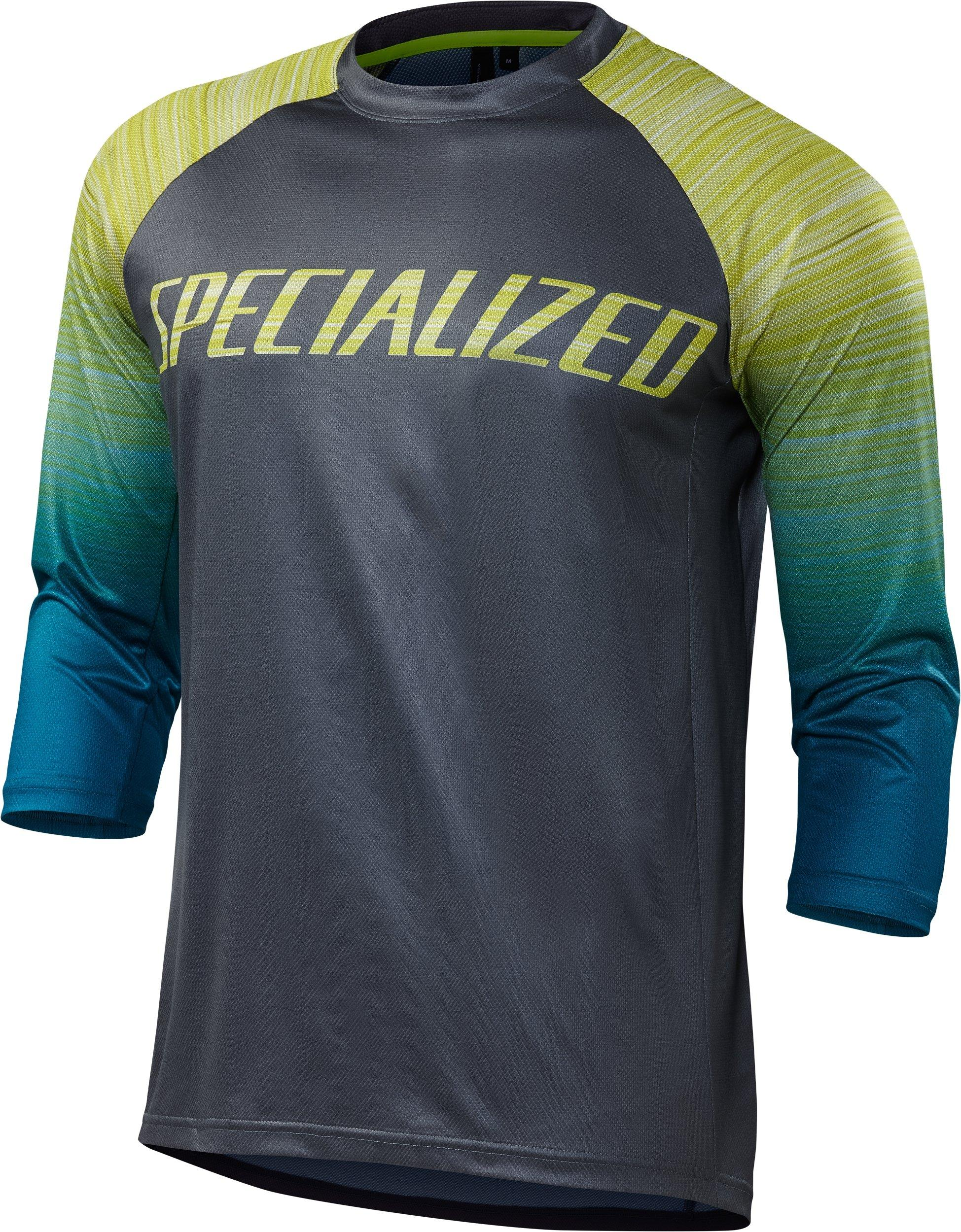 2018 Specialized Enduro Comp 3 4 Sleeve Mens Jersey in Black £60.00 69ce1db1e