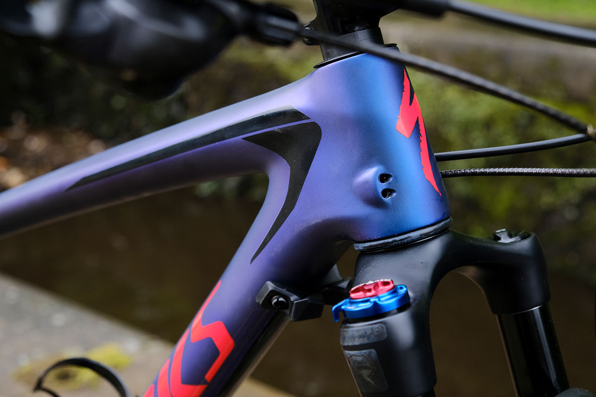 Specialized S Works Epic Ht World Cup In Purple Red Black