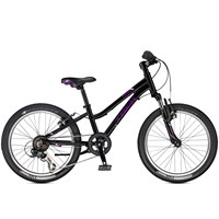 Trek Precaliber 20 inch Girls Junior Bike in Black/Purple