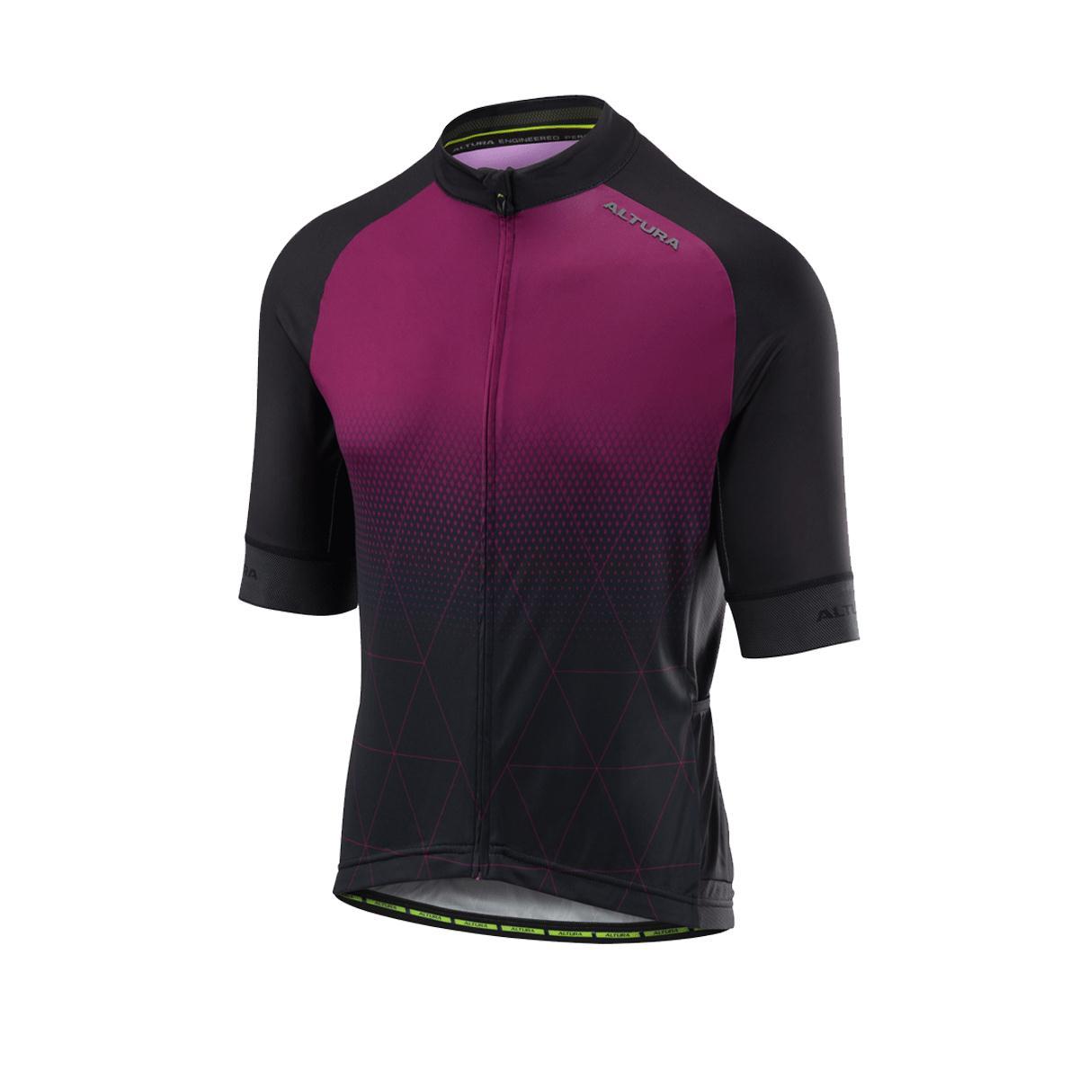 Altura Peloton Short Sleeve Mens Jersey in Prism Plum Black £49.99 3362e47f7