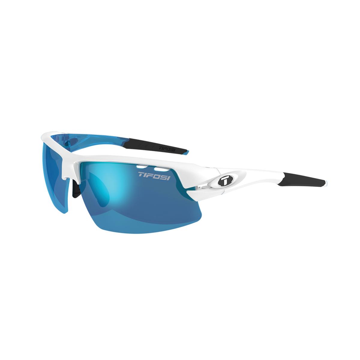 78c0034b6787 Tifosi Crit Half Frame Interchangeable Lens Glasses - White Blue £69.99